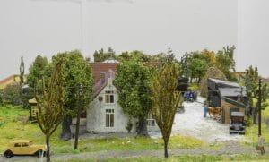 Maquette de Boogaard boerderij Jodenboerderij